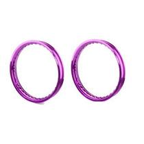 Aro De Aluminio Moto Colorido Pop 100 Biz 125 / 100 Violeta