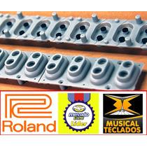 Borracha Original P/ Teclado Roland E50 Frete Gratis
