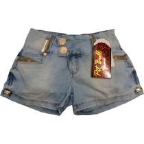 Shorts Jeans Pit Bull Com Bojo Modela E Levanta O Bumbum