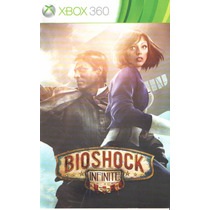 Manual De Instrucoes Bioshock Infinite Xbox 360 /original