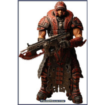 Dominic Santiago - Gears Of War 2 - Theron Disguise - Neca