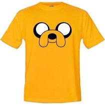 Camiseta Infantil Desenhos Jake Hora De Aventura