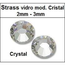 Strass Hotfix Cristal 2mm E 3mm (1.000 Un.) Termocolantes