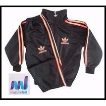 Agasalho Adidas Conjunto Infantil Moleton M/f 12xs/juros