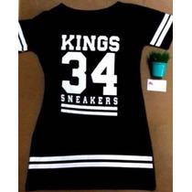 Vestida Annita Mc Kings Size 34 Sneakers Original