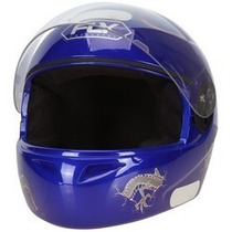 Capacete Fly F8 Chase Com Viseira Para Moto 2 Cores