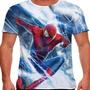 Camiseta Homem Aranha Energy Masculina