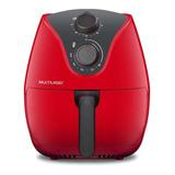 Fritadeira Sem Óleo Multilaser Air Fryer 4 L Gourmet  Vermelha 110v