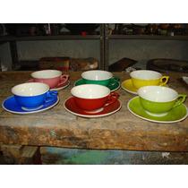 Xícara - Conjunto De Chá Antigo Porcelana Em Perfeitoestado