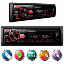 Auto Rádio Som Automotivo Pioneer Mvh-88 Usb Frete Grátis!