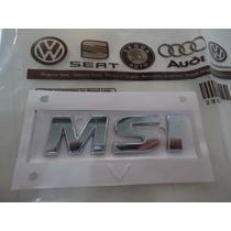 Emblema Logotipo Msi Voyage G6 Original Vw