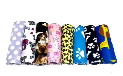 Kit 12 Mantas Cobertor Pet