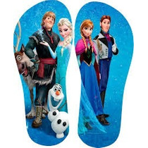 Chinelo Personalizados Frozen