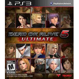 Jogo-Dead-Or-Alive-5-Ultimate---Ps3-Original-Lacrado