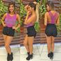 Shorts Jeans Hot Pants Sal E Pimenta Sj036