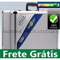 Maleta De Alumínio Grande Ferramentas Brasfort/lee 45x33x15