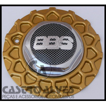 Calotinha Calota Central Roda Aro 17 Bbs Zunky Dourada- 1 Pç
