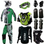 Kit Geometric Pro Tork Equipamento Trilha Motocross Off Road