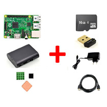 Kit Raspberry Pi2 Quad 1gb + Case + Dissipador