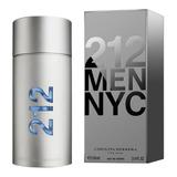 Perfume 212 Nyc Men 100ml - Original E Lacrado