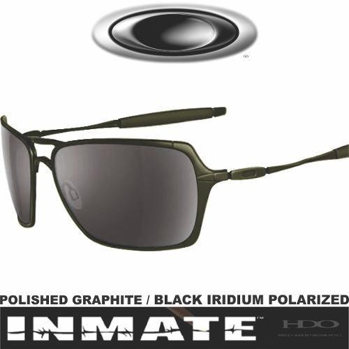 00434dd2f Óculos De Sol Inmate Probation Americano Original Polarizado (Oakley ...