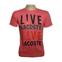 Camisa Lacoste Live Pronta Entrega