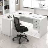 Mesa Para Computador Office Me4106 Branco - Tecno Mobili