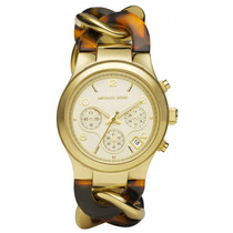 Relógio Michael Kors Ladies Tortoise Gold Mk4222