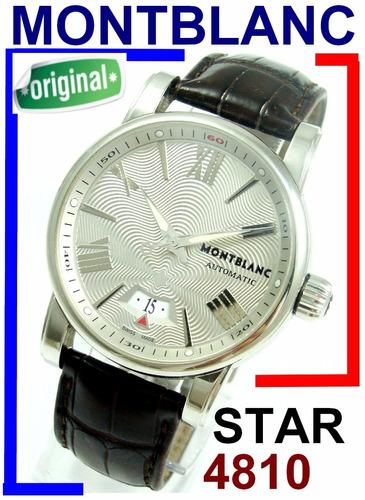 3b45a6c4a6e Montblanc Star 4810 Auto Xl Ref. 7102 Autêntico !