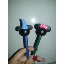 Lembrancinhas - Ponteiras De Lápis Do Mickey/minnie-biscuit
