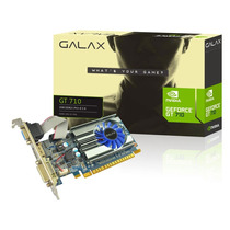 Placa De Video Para Pc Geforce Gt710 2gb Ddr3 Até 3 Monitor