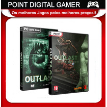 Outlast + Dlc Whistleblower - Pc Jogo Original (drm Free)