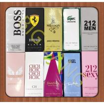 Kit 10 Perfumes Importados Contratípo Alta Fixação 50 Ml