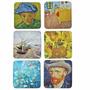 Jogo De Porta Copos Van Gogh Cortiça 6 Peças - Van Gogh Arp