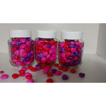 10 Potes De Vidro 170 Ml Com Tampa De Plastico Lembrancinhas