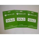 Xbox Live Gold 12 Meses Xbox/ Código 25 Dígitos