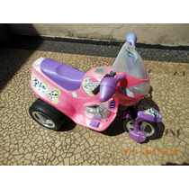 Moto Eletrica Magic Toy Meninas Super Poderosas