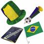 Kit Do Brasil Para Torcedor