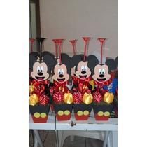 Centro Mesa Mickey Pega Balão C\20