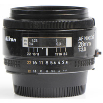 Objetiva Nikon 28mm 2.8 Autofocus
