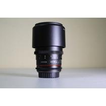 Lente Samyang 135mm Tcine T2.2 Rokinon Canon Nota Fiscal
