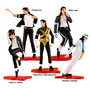 Michael Jackson Kit Com 5 Bonecos Importados Pronta Entrega