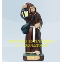 Escultura São Longuinho Linda Imagem 20cm Preço Fabrica Ml