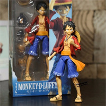 Boneco One Piece - Monkey D. Luffy Articulado New World