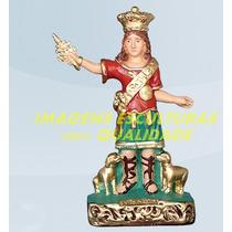 Escultura São Vito Mártir Linda Imagem 20cm Promoção No Ml
