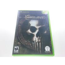 Jogo Xbox Primeira Geração - Enclave Original Completo