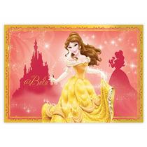 Tela Painel Decoração Festa Aniversário Tema Princesa Bela