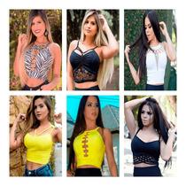 370be798f Cropped Feminino com os melhores preços do Brasil - CompraCompras ...