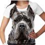 Camiseta Cachorro Cane Corso Feminina