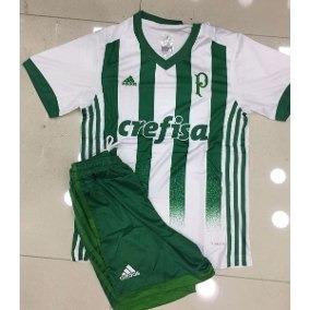 Kit Infantil Conjunto Palmeiras Original 2018 Lançamento. R  129 646eca5b9099e